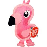 Petstages - Fire Biterz Flamingo Durable Fire Hose Dog Toy - Medium