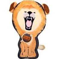 Petstages - Tough Seamz Lion Dog Toy W/ Invincible Squeaker - Large