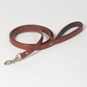 "Hound?s Best - Medium ""Windsor"" Leather Dog Leash - 6 feet"
