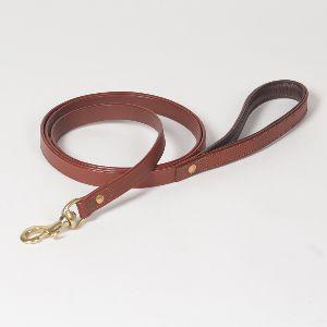 "Hound?s Best - Medium ""Leeds"" Leather Dog Leash - 6 feet"