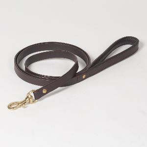 "Hound?s Best - Medium ""Dover"" Leather Dog Leash - 6 feet"