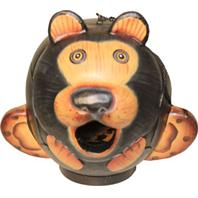 Songbird Essentials - Gordo Black Bear Bird House - 8.40X5.70X6.60