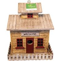 Songbird Essentials - Songbird Beach Cottage Bird House - 9X5.4X10.2