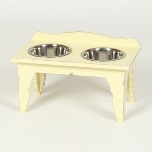 Hound?s Best - Medium Raised Dog Feeder - Shabby Chic