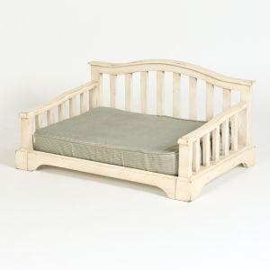 "Hound?s Best - Medium Raised Orthopedic Foam Dog Bed ""French Country"""