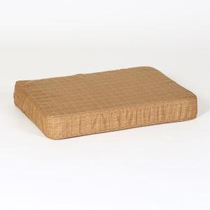 "Hound?s Best - Small ""Beige Plaid"" Orthopedic Foam Dog bed"