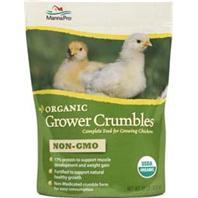 Manna Pro - Organic Grower 17% Crumbles - 10 Pound