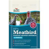 Manna Pro - 22% Meatbird Starter-Grower W/Probiotics - 8Lb