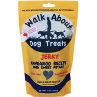 Walkabout Pet Treats - Walkabout Dog Jerky - Kangaroo - 7 Oz