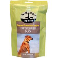 Walkabout Pet Treats - Walkabout Freeze Dried Dog Treats - Duck - 4 Oz