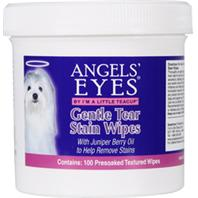 Angels Eyes Natural - Angels  Eyes Gentle Tear Stain Wipes For Dogs - 4 oz/100 Count