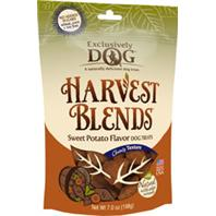 Exclusively Pet Inc - Harvest Blends Dog Treats - Sweet Potato - 7 Oz