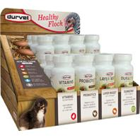 Durvet D- Healthy Flock Poultry Display - 24 Ct