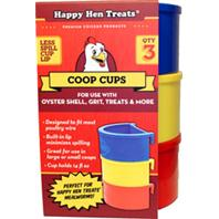 Durvet - Happy Hen D - Poultry Coop Cups - Assorted - 14 Ounce