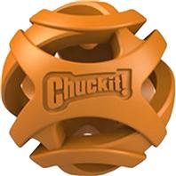 Canine Hardware - Chuckit! Breathe Right Fetch Ball - Orange - 2 Pack