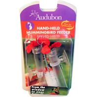 Audubon/Woodlink - Feeder Hummingbird Hand Held - Red/Clear - 3 Oz