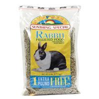 Sunseed Company - Sun Basics Pet Rabbit Pellets - 6 Lb