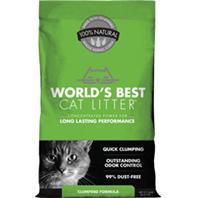World's Best Cat Litter - Worlds Best Cat Litter Clumping Formula - 14 Lb