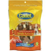 Ims Trading Corporation - Cadet Gourmet Triple-Flavored Shish Kabobs - Ckn/Duck/S.Pot - 4 Oz