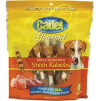Ims Trading Corporation - Cadet Gourmet Triple-Flavored Shish Kabobs - Chicken/Duck/Sw - 12 Oz