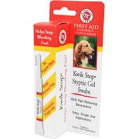 Stewart - Kwik Stop Styptic Gel Swabs - White