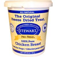 Stewart - Freeze Dried Chicken Breast Treats For Dogs - Chicken - 3 oz