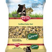 Kaytee Products - Kaytee Supreme Hamster/Gerbil Food - 2 Pound