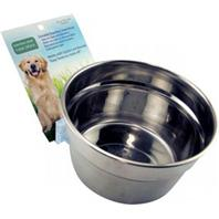 Lixit Corp - Howard Pet - Stainless Steel Cage Crock Bowl With Bracket - 20 Oz