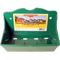 Miller Mfg - Salt Brick Holder Flat Poly - Green