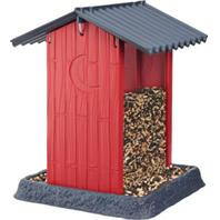 North States Industries - Shed Birdfeeder - Red - 8X8X11 Inch