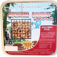 Pine Tree Farms Inc - Lepetit Mealworm Banquet Cake -  7.5 Oz