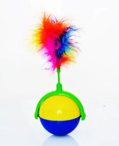 Iconic Pet - Flashy Swingy Interactive Cat Toy - 10X10X4 Inch
