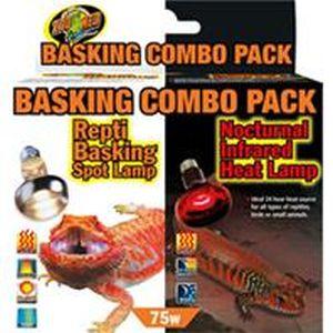 Zoo Med - Day and Night Light Combo Pack - 75 watt