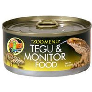 Zoo Med - Zoo Menu Tegu And Monitor Canned Food - 6 oz