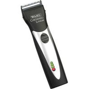 Wahl Clipper - Chromado Lithium Cordless Professional Clipper Kit - Black/Silver