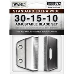 Wahl Clipper - Extra Wide Adjustable 10-15-30 Replacement Blade - 2.5 Inch