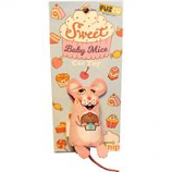 Fuzzu- Sweet Baby Mice Cupcake Mouse Cat Toy - Multi - Med