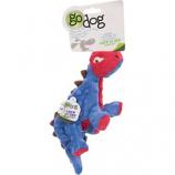 Quaker Pet Group - Godog Dino Spike - Blue/Red - Small