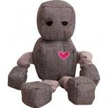 SnugArooz - Snugz Ryder The Robot - Grey - 13 Inch
