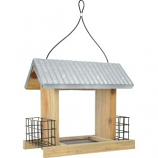 Natures Way Bird Products - Nature'S Way Hooper Feeder - Weathered Galva - 11X12.5X6