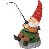 Exhart - Fishing Gnome - 12 Inch