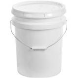 Miller Mfg - Plastic Bucket With Lid - White - 5 Gallon