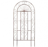Deer Park Ironworks - Sunset Trellis - Natural Patina