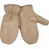 Kinco International-Axeman Lined Ultra Suede Mitten-Tan-Youth
