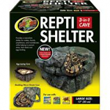 Zoo Med - Repti Shelter 3-In-1 Cave - Brown - Large