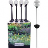 Coleman Cable P - Moonrays Crackle Globe Led Stake Light Display-Assorted-16 Piece