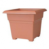 Novelty Mfg -Countryside Tub Planter-Clay-14 Inch