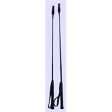 Horse And Livestock Prime - Riding Crop With Loop - Black - 26 Inch