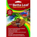 Caribsea - Betta Leaf Indian Almond Leaf - Natural-3Pack
