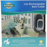 Petsafe - Electronics - Lite Rechargeable Bark Control For Sensitive Dogs - Blue